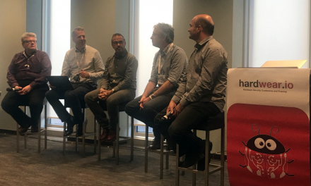 Who needs IoT security certification? – CXO Panel – Marc Witteman (@Riscure), Gil Bernabeu (@_gilhom_ @GlobalPlatform_), Roberto Avanzi (@DogeMocenigo @Arm), Eric Vétillard (@evetillard @NXP) & Andrew Dellow (@Huawei)